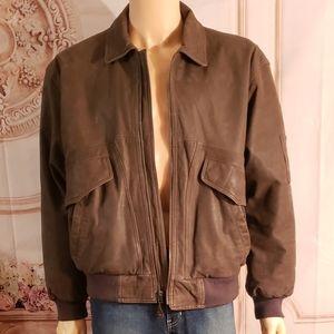 Vintage Burma Run leather jacket size L